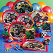 monster truck birthday party supplies, truck theme party