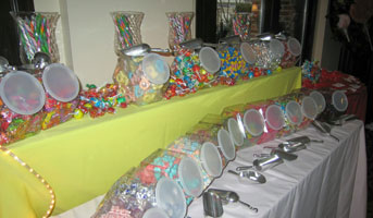 candy is always popular but its especially hot right now with candy and candyland theme parties setting up a candy buffet it fun easy and a big hit