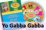 Yo Gabba Gabba theme party