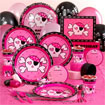 Pink skulls party