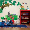jungle giant wall graphics