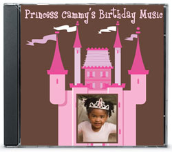 Custom cd party favor