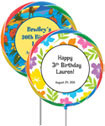 Kids luau lollipops