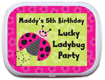personalized mint tin for kids birthday party favors