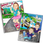 Custom kids birthday party caricatures