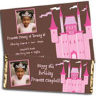 Princess castle photo invitation and favors