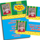 Yo Gabba Gabba party invitations and party decorations