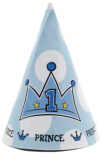 Lil' Prince 1st Birthday Party Hats