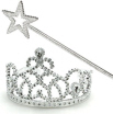 princess tiaras and wands