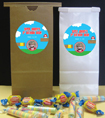party favor bags super mario bros theme