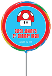 super mario bros party favor