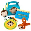 monkey theme favor box set