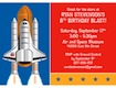 space theme invitation