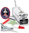 space mission party favor box