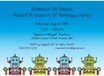 personalized robots theme invitation