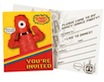 yo gabba gabba write in invitations