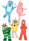 yo gabba gabba wall decals