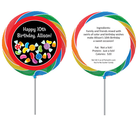 Candy Party Lollipop