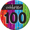 Rainbow Celebration 100th birthday party supplies