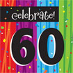 Rainbow Celebration 60th birthday party supplies