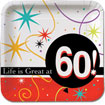 Life is Great at 60 party supplies