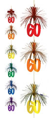 light up 60th birthday balloons