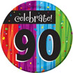 Rainbow Celebration 90th birthday party supplies
