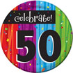 Rainbow Celebration 50th birthdayparty supplies