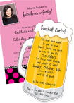 21st Birthday Party Invitations and Favors