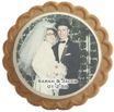 anniversary photo cookies party favor