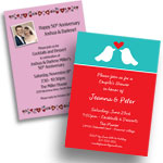 Anniversary Invitations and Favors
