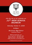 personalized class reunion invitation