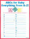 ABCs for Baby Everything from A to Z