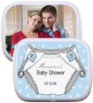 baby shower mint and candy tin