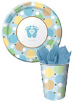 baby shower paper goods