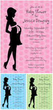 personalized mommy to be invitation