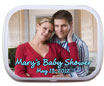 personalized mommy to be mint and candy tin