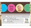 personalized baby announcement candy bar wrapper