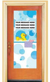 Duck theme door sign