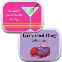 Bachelorette party theme mint tins