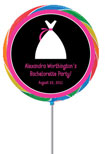 bachelorette party favors, custom lollipop