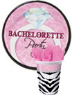 bachelorette party paper goods