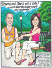 caricarture for bridal shower