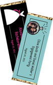 personalized bridal shower candy bar wrapper