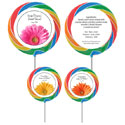 Bridal shower party theme lollipops