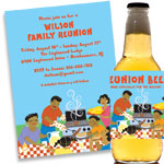 Family Photo Invitations and Favors