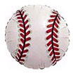 Mylar baseball balloon