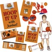 personalized basketball theme party package