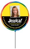 custom broadway lollipop