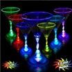 LED Martini glasses
